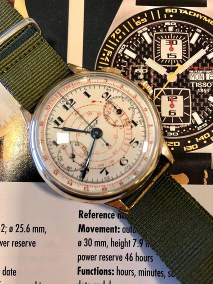 Relógio Tissot Cronógrafo Monopulsor Anos 1930 Raro