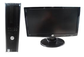 Computador Dell Optiplex 755 Core 2 4gb 120gb Ssd Mon 18,5