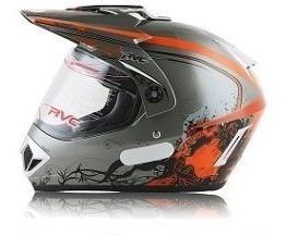 Capacete Trilha Rvc 370 Rba Moto