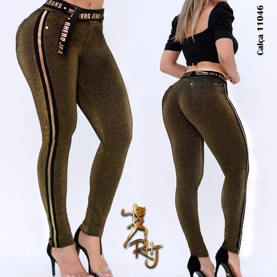 Calça Montaria Com Cinto Rhero Jeans Cod 11046