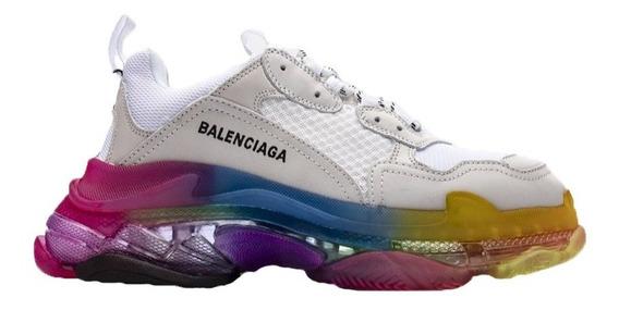 Tenis Balenciaga Rainbow Caballero