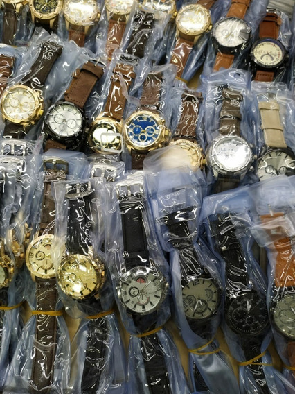 Relógio-kit Com 15 Relógios Masculinos Atacado Para Revenda