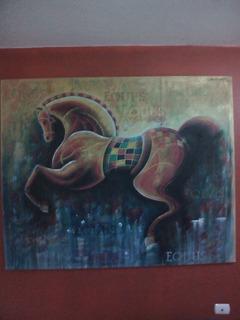 Cuadro Titulo Somnus Ex Equus. Serie Sueños De Caballos