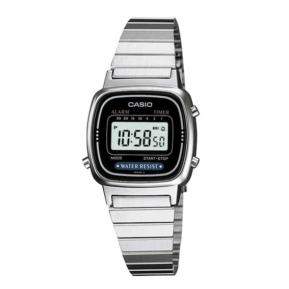 Relógio Casio Feminino La670wa-1df Vintage C/ Garantia E Nf