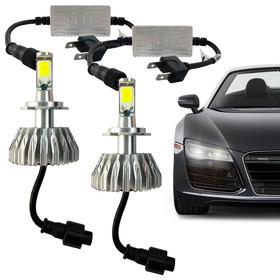 Kit Super Led Lampada H7 6000k 3200 Lumens Efeito Xenon