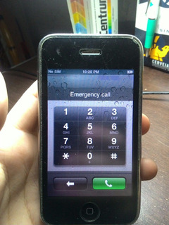iPhone 3g Usado Travado Belo Horizonte Mg