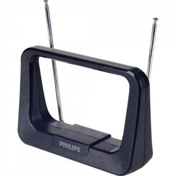 Antena Digital Interna Philips Sdv1126x - Hdtv/uhf/vhf/fm -