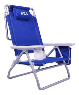 Cadeira De Praia Reclinável C/ Bolsa Térmica Kala 499684