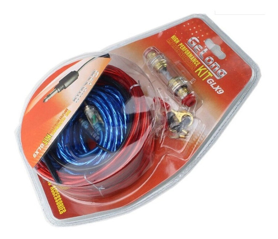 Kit Cables Audio 5m Calidad Amplificador Subwoofer Auto