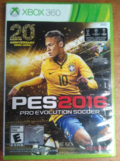 Juego Xbox 360 Pes 2016