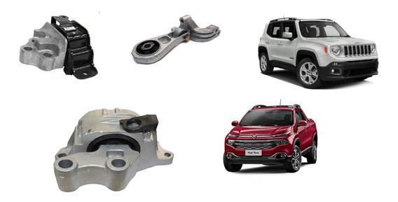 Coxim Mancal Suporte Motor Jeep Renegade Fiat Toro 1.8 Flex