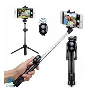Tripode Selfie Bluetooth Para Celular.