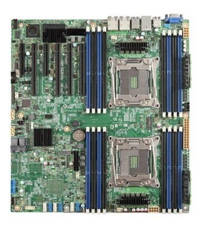 Placa Mãe Servidor Intel Dual Xeon E5-2600v3/v4 Lga2011-3.