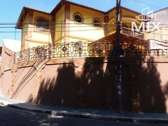 Lindo Sobrado Todo Reformado, 4 Dormitórios, Próximo Ao Zoológico De Guarulhos, Sp - So0052