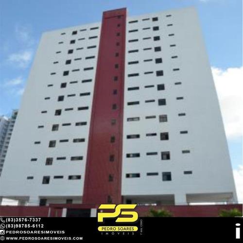 Imagem 1 de 1 de Apartamento Com 3 Dormitórios À Venda, 107 M² Por R$ 349.000 - Manaíra - João Pessoa/pb - Ap4861