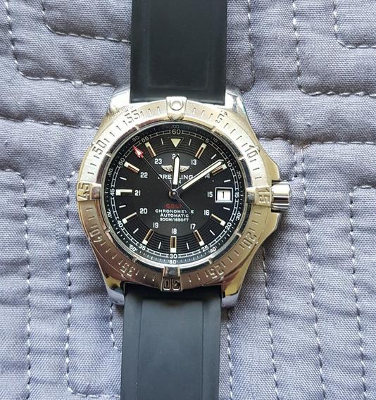 Reloj Breitling Colt A17380 41mm Extensibles Caucho Y Acero