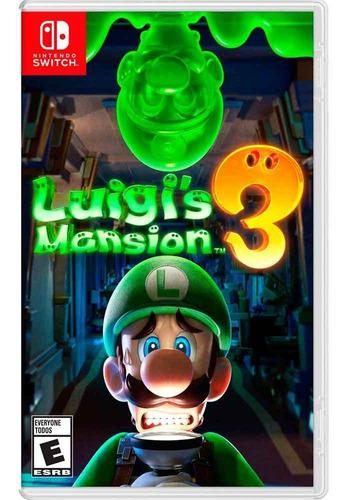 Imagen 1 de 1 de Luigis Mansion 3 Nintendo Switch