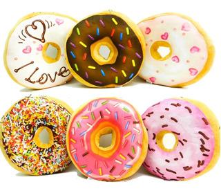 Almohadon Dona Donut Almohada Cuotas Mmk Alm7x