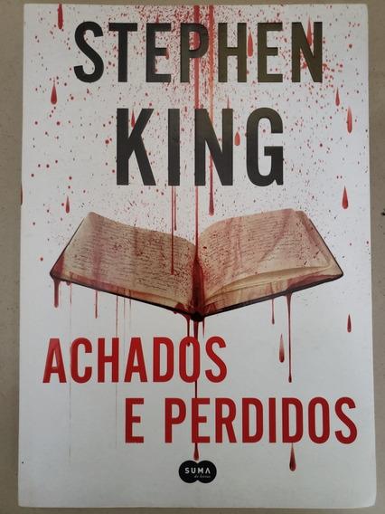 Livro Stephen King Achados E Perdidos E Mr. Mercedes