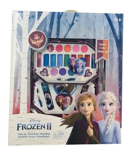 Frozen Set Maquillaje Doble New Cosmetico Ar1 Fr1811 Ellobo