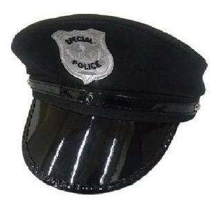 Chapéu Quepe Policial, Taxi, Médico Fantasia Carnaval