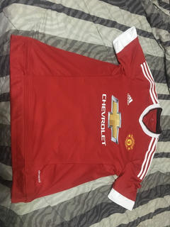 Camisa Manchester United adidas 2016 Home M Oficial