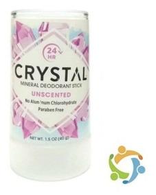 Desodorante Crystal 40g Natural, Nova Embalagem Envio Já