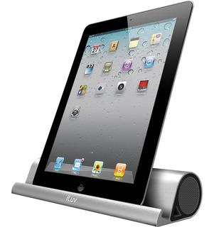 Parlante Bluetooth Portátil Con Soporte Para iPad Celulares