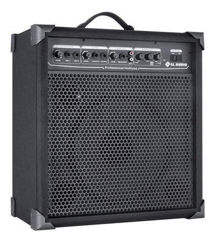 Caixa Amplificada P/ Microfone Guitarra Violão Lx100 Nca Ysm