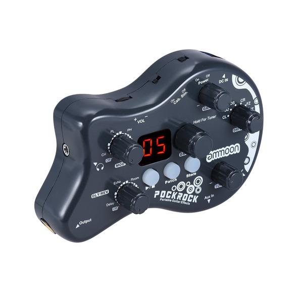 Pedal Ammoon Pockrock Efectos Procesador Para Guitarra