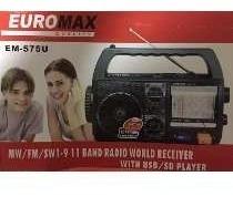 Radio Portatil 11 Bandas Euromax Em-575u