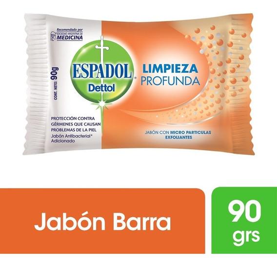 Espadol Jabón Exfoliante Limpieza Profunda X 90 Grs
