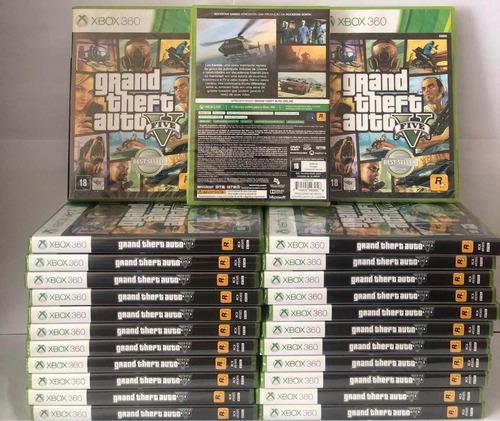 Gta 5 Xbox 360 Mídia Física Original Lacrado + Brinde
