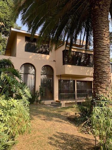 Casa Con Precioso Jardín En Renta Bosque De Guayacanes