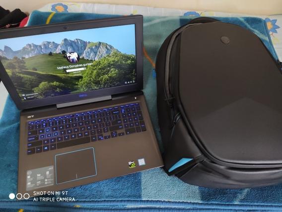 Dell G7-7588 Intel Core I7 8gb 1t 128ssd + Mochila Alienware