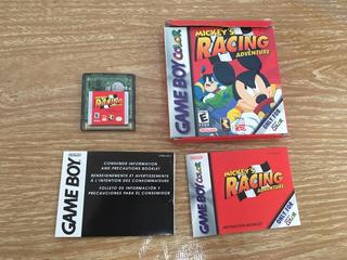 Mickey Race Adventura Game Boy Color - Gamerboy -