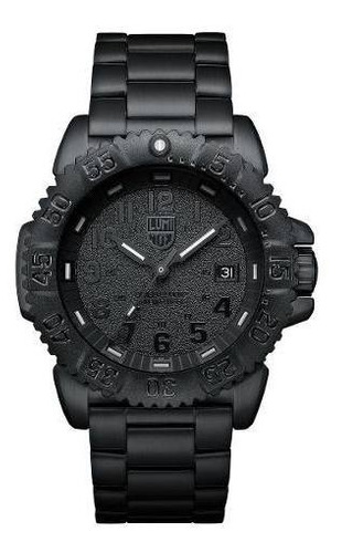Relógio Luminox Xs.3152.bo.nv Navy Seal Blackout Dive
