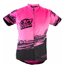 Camisa Ciclismo Bike Bicicleta Pro Tork Line 1 Hi-vis Pink