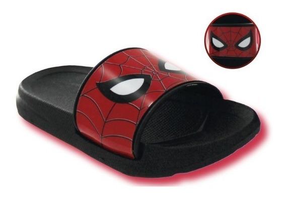 Sandalia Niño Negro Spiderman T02459