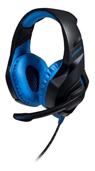 Headset Fone De Ouvido Warrior Ph244 Usb 2.0 Com Led