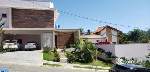 Casa À Venda, 452 M² Por R$ 1.500.000,00 - Residencial Via Reggio - Sorocaba/sp - Ca1832