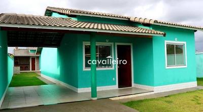 Casa 4 Quartos E Churrasqueira À Venda, Jardim Atlântico Central (itaipuaçu), Maricá. - Ca2832
