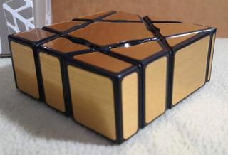 Cuboide Rubik Ghost 3x3x1 Oro Moyu + 6 Cuotas Rosario