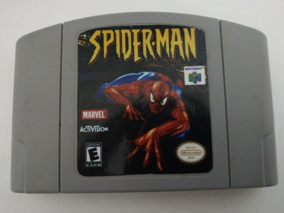 Spiderman Original Americana Nintendo 64 N64