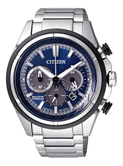 Relógio Citizen Eco Drive Super Titanium Ca4240-58 Original