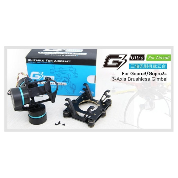 Gimbal Mr 3-axis Feyu Tech G3 3 Eixos