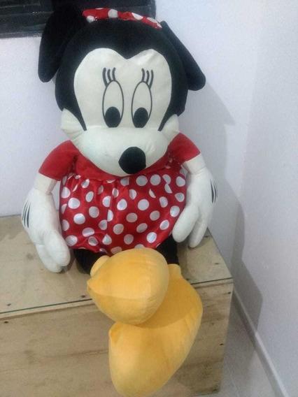 Minnie Mouse De Pelucia, 1m De Altura Seminova
