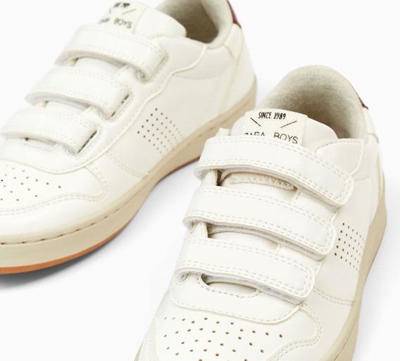 Zapatillas Escolares Zara Bamba Nuevas Import C/etiq