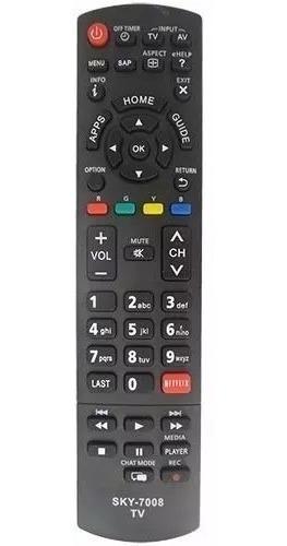Controle Remoto P/ Tv Lcd Panasonic Viera C/ Netflix