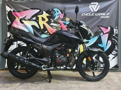Moto Hero Hunk 150 15 Hp  I3s 0km Negro Mate  Ex Honda 19/1